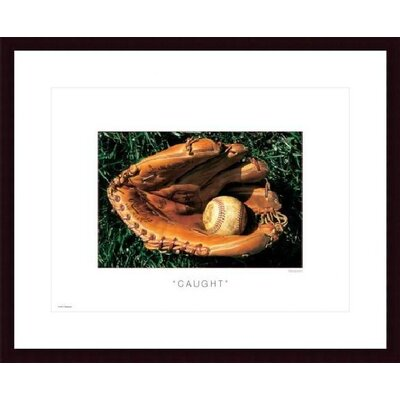 Barewalls Caught Metal Framed Art Print