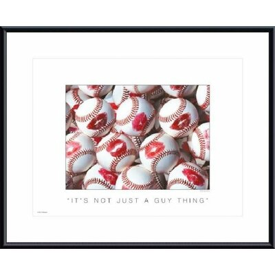 Barewalls It's Not Just a Guy Thing Metal Framed Art Print