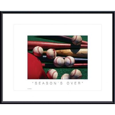 Barewalls Season's Over Metal Framed Art Print