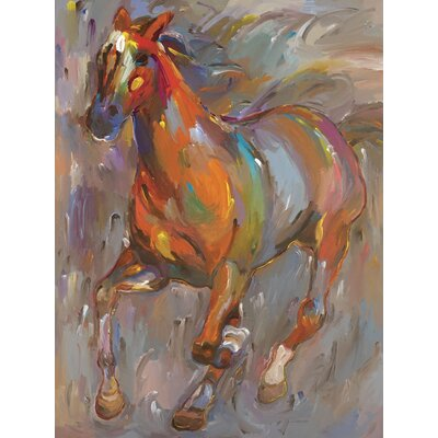 Stellar Steed Gallery Wrapped Canvas