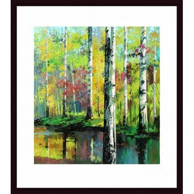 Barewalls Creekside II Wood Framed Art Print