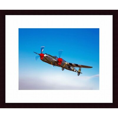 Barewalls A Lockheed P-38 Lightning Fighter Aircraft in Flight
