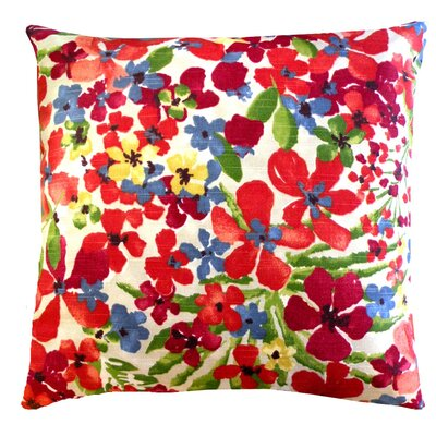 Elisabeth Michael Floral Cotton Pillow