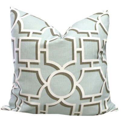 Elisabeth Michael Aquatint Cotton Pillow
