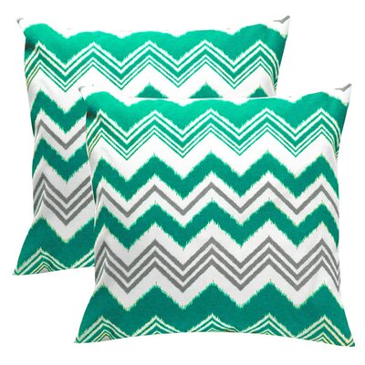 Elisabeth Michael Zig Zag Indoor / Outdoor Polyester Pillow