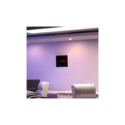 "Big Time Clocks 11"" LED Digital Square Dot Wall Clock"