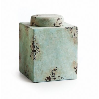 Square Pot with Lid Small