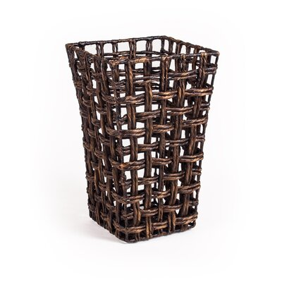 Patina Square Water Hyacinth Basket
