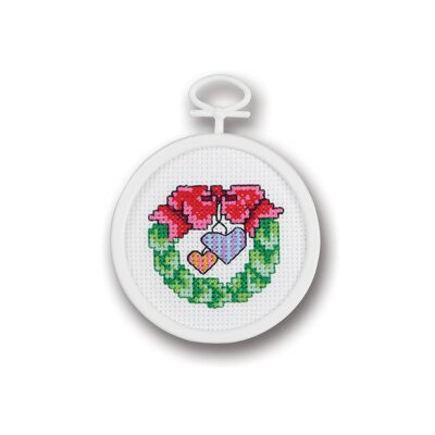 Janlynn Wreath Counted Cross Stitch