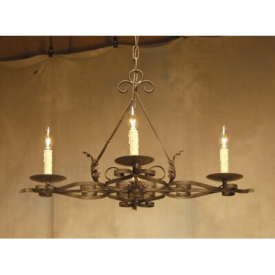 Elianna 4 Light Chandelier