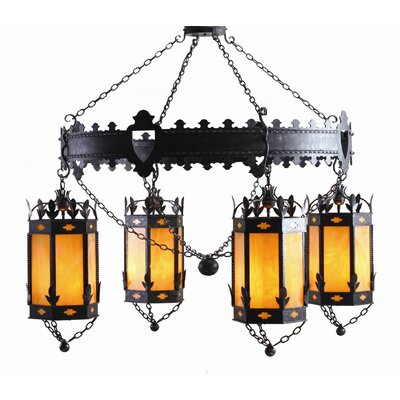 Valhalla 4 Light Chandelier