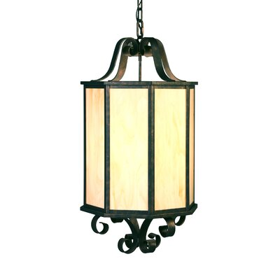 2nd Ave Design Musetta 4 Light Outdoor Foyer Lantern