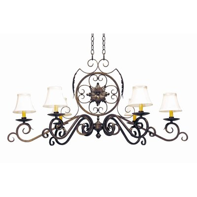 2nd Ave Design Christabel 6 Light Chandelier