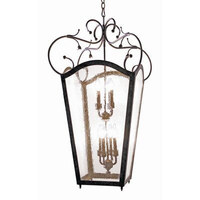 2nd Ave Design Tessa 8 Light Outdoor Foyer Lantern