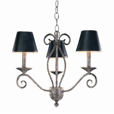 Sienna 3 Light Chandelier