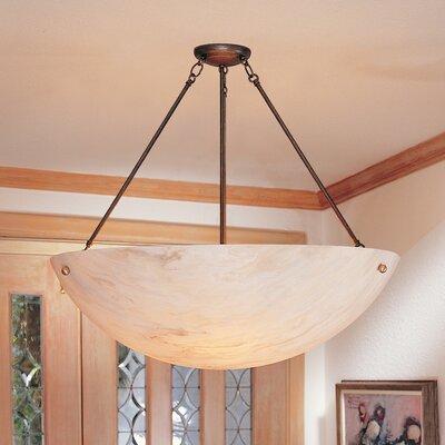 2nd Ave Design Rio 5 Light Inverted Pendant