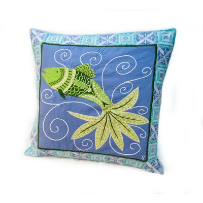 Rennie & Rose Design Group Susan Sargent Fish Tale Accent Pillow