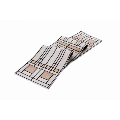 Frank Lloyd Wright Oak Park Table Runner