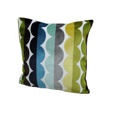 Rennie & Rose Design Group Modern Waves Pillow