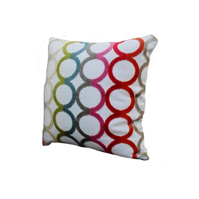 Rennie & Rose Design Group Modern Circles Pillow
