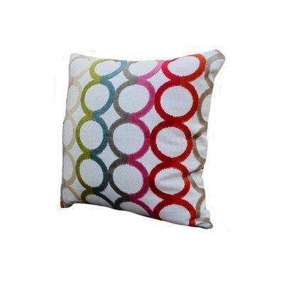 Rennie & Rose Design Group Modern Circles Pillow