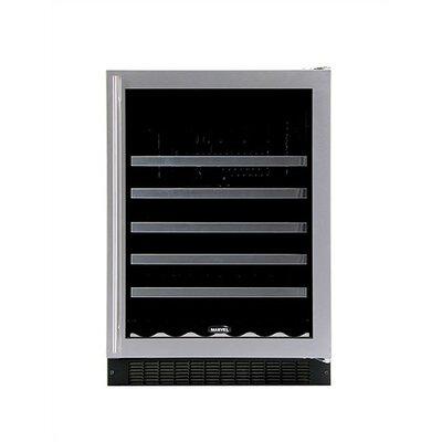 Marvel Appliances Luxury 45 Bottle Single Zone Build-In Wine Refrigerator