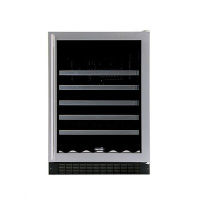 Marvel Appliances Luxury 45-Bottle Wine Refrigerator