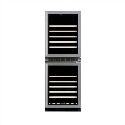 90 Bottle Dual Zone Wine Refrigerator