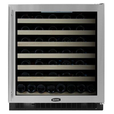 Marvel Appliances 68 Bottle Dual Zone Wine Refrigerator