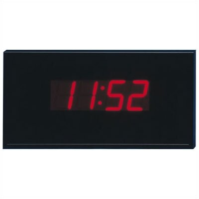 Peter Pepper 4 Digit Electronic Wall Mounted Digital Clock