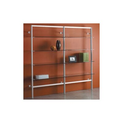"Peter Pepper Envision® 84"" H Four Shelf Add-On Section Storage System with 4 Shelves"