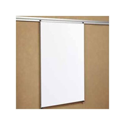 "Peter Pepper Tactics Plus® Track Mounted Writing 3'6"" x 3' Whiteboard"