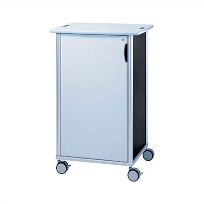 Peter Pepper Wheelies® AV Media Cart with Locking Door