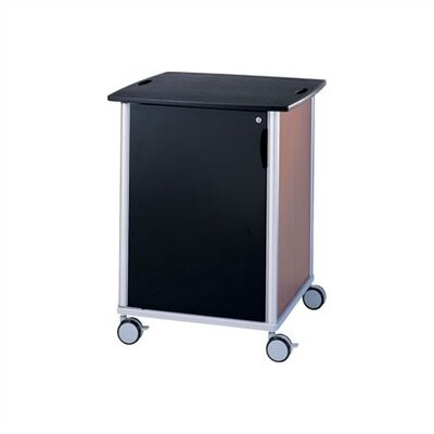 Peter Pepper Wheelies® Equipment Cart with Locking Door and Adjustable Shelf