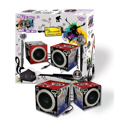 Bojeux Techno Art Speakers for Boy