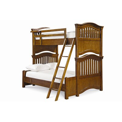 SmartStuff Furniture Classics 4.0 Twin over Full Bunk Bed with Ladder
