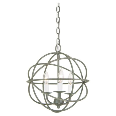 3 Light Globe Chandelier