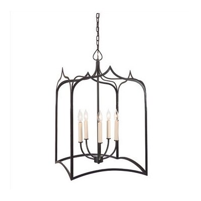 JVI Designs Gothic 5 Light Extra Large Foyer Pendant