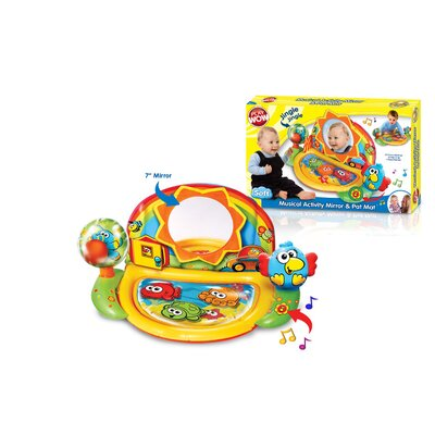Play Wow Musical Activity Mirror and Pat Mat