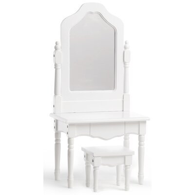 Laurent Doll Doll Vanity and Stool