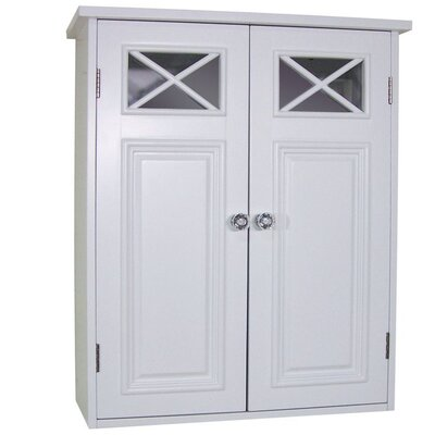 Elegant Home Fashions Dawson Two Door Wall Cabinet