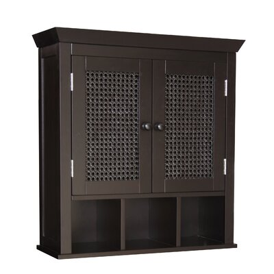 Elegant Home Fashions Savannah Two Door Wall Cabinet