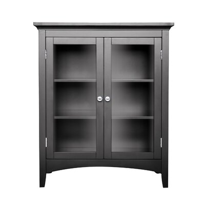Elegant Home Fashions Madison Avenue Dark Double Floor Cabinet