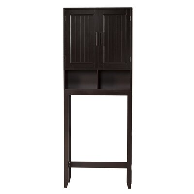 "Elegant Home Fashions Harrison 25"" x 66"" Over the Toilet Cabinet"