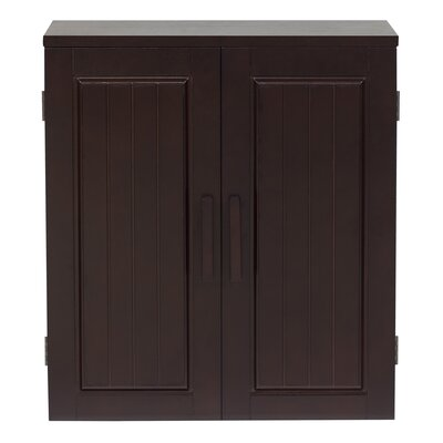 Elegant Home Fashions Harrison Double Door Wall Cabinet