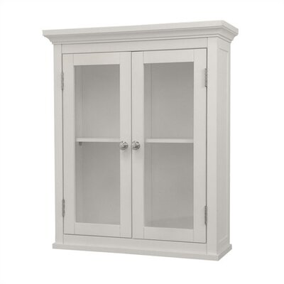 Elegant Home Fashions Madison Avenue Wall Cabinet with Two Doors