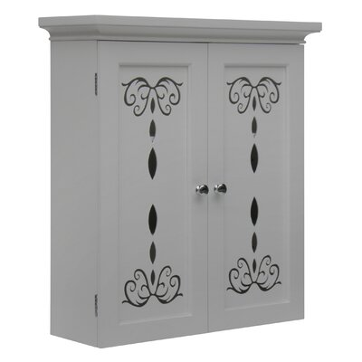 "Elegant Home Fashions Dallia 22.5"" X 25"" Wall Mounted Cabinet"