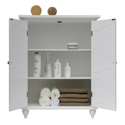 Elegant Home Fashions Versailles Floor Cabinet with 2 Doors