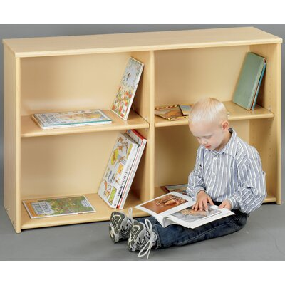 TotMate Eco Laminate Preschool Adjustable Shelf Storage