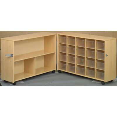 TotMate Eco Preschool Fold-n-Roll  23 Compartment Cubby